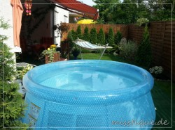 intex quickup pool clear view