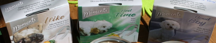 Moments Hundefutter Header